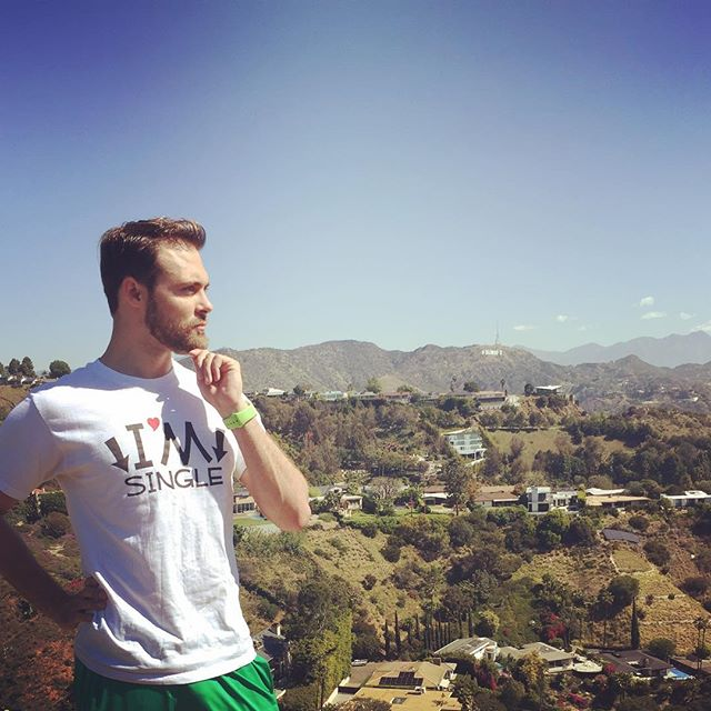 Just a king surveying his options in the valleys of his kingdom.
