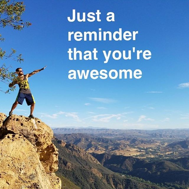 Don't forget #awesome